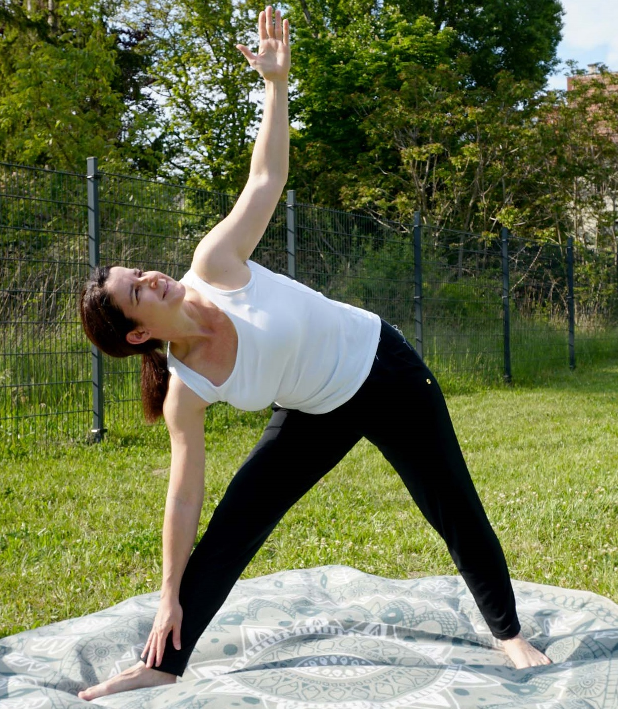 Kurzes Workout für Vielsitzer